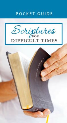 Scriptures for Difficult Times Pocket Guide (56039)