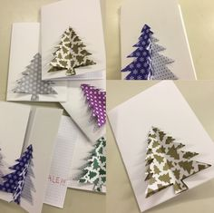 Xmas Cards, Advent, Christmas Crafts, Gift Wrapping, Handmade, Gifts, Spring, Creativity, Xmas