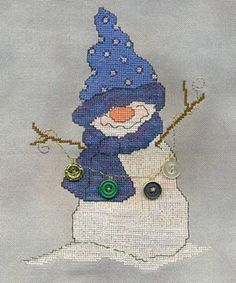 BUTTONS - Counted Cross Stitch Pattern $6.95