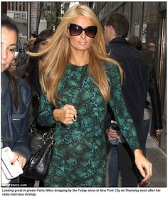 c7c9bc681a8 Paris Hilton wearing Tom Ford sunglasses Tom Ford Sunglasses