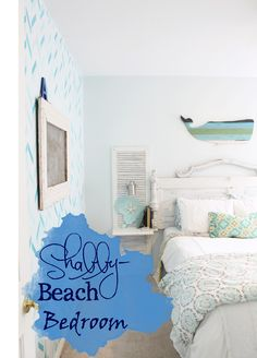 The ragged wren : Shabby-Beach Bedroom
