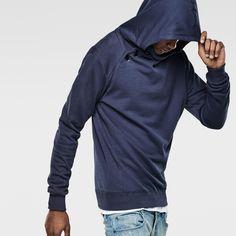 G-Star RAW | Men | Sweats | Lufab Navy Hooded Sweat , Indigo