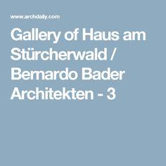 Gallery of Haus am Stürcherwald / Bernardo Bader Architekten - 3