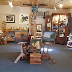 The Chiracahua Gallery in Rodeo, NM is a great day trip from the Toland Adobe, our Bisbee, AZ vacation rental.