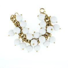 My design inspiration: Napier White Bead Bracelet on Fab.