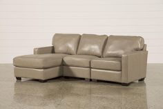 Redford Mushroom 3 Piece Left Facing Chaise Sectional