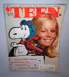 September 1969 cover with Snoopy