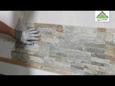 (1) Come posare un rivestimento decorativo - Tutorial Leroy Merlin - YouTube