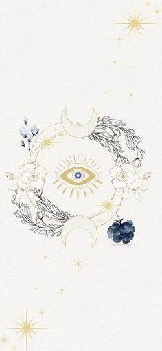 Here is a new gold iPhone Xs Wallpapers to match your new iphone.- Here is a new gold iPhone Xs Wallpapers to match your new iphone. Evil eye, moon and flowers. constellation wallpaper with watercolor flowers. Eyes Wallpaper, Wallpaper Backgrounds, Watercolor Wallpaper Iphone, Wallpaper Iphone Gold, Boho Backgrounds, Cellphone Wallpaper, Spiritual Wallpaper, Wallpaper Harry Potter, Evil Eye Art
