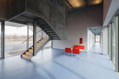 Gallery of Győr-Gönyű National Public Port Control Building / sporaarchitects + Térhálózat - 5