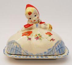 Little Red Riding Hood Butter Dish