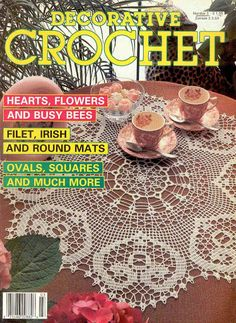 Decorative Crochet Magazines 3 - Gitte Andersen - Picasa Web Albums