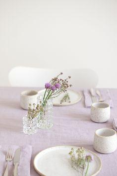 Urban Jungle Bloggers | planty table setting | photo: Sabine Wittig