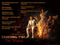 Catching Fire Workout! Want to see more workouts like this? Follow usherefor your favorite movies and tv shows! We take requests, too!