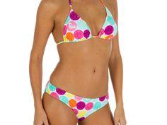 de41257793 Colección de bikinis Decathlon 2016  Estampado de lunares