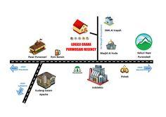 Desain Perumahan Minimalis Perumahan Graha Purwosari Regency - Peta Lokasi