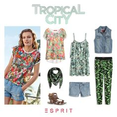 Are you ready for a #island #holiday? Get in the #mood with our #tropical #city #summer looks!