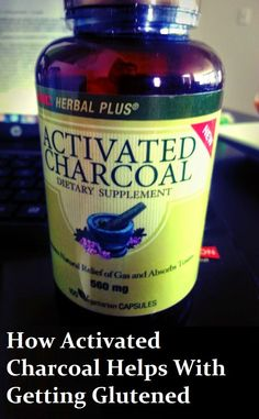 Short post on How Activated Charcoal Helps with Getting Glutened!