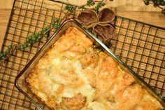 Auflauf mit Süßkartoffel, Zucchini und Erdäpfel - Cooking Bakery