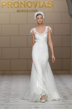 Pronovias 2015...Pretty & feminine. More interesting details to consider.