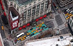 Macy's department store at Herald Square, seen from the Empire State Building, NYC New City, New York City, Berlin, 34 Street, Herald Square, I Love Ny, City That Never Sleeps, Travel Tours, Ghana