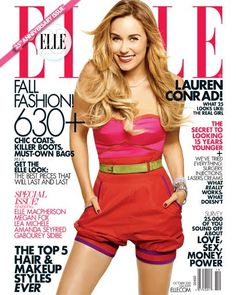 LC Elle Cover Lauren Conrad The Hills