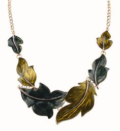 2016 New Gold Ethnic Vintage Exaggerated Bib Collar Long Colorful Glaze Big Leaves Statement Necklaces Maxi Jewelry For Women-in Choker Necklaces from Jewelry & Accessories on Aliexpress.com | Alibaba Group
