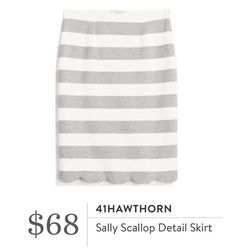 Very cute but would prefer black, nave or darker grey stripes