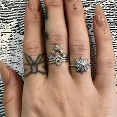 Hello Christmas Eve. It doesn't look like we will have any snow in London but I can still make it a white Christmas with these beautiful rings on . Enjoy the day and wishing you all much Happiness and Fun  #zoeandmorgan #inspiration #diamondring #whitechristmas