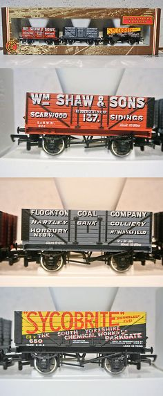 P Perry Various Styles 37-117 Bachmann Oo 7 Plank Fixed End Wagon C