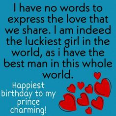 Romantic Happy Birthday Boyfriend Wishes, Messages, Quotes, Images WishesNinety presents you lovely and romantic Happy birthday boyfriend wishes and messages to make him feel special ❤️ # Birthday Letters To Boyfriend, Happy Birthday Boyfriend Message, Happy Birthday Wishes For Him, Birthday Message For Boyfriend, Romantic Birthday Wishes, Birthday Wish For Husband, Happy Birthday Text, Birthday Wishes Messages, Birthday Humorous