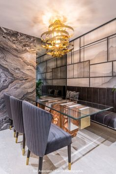 """""""Modernity in Tradition"""" -Residence Interiors Apartment Interior, Apartment Design, Room Interior, Luxury Dining Tables, Modern Dining Table, Dining Area, Luxury Interior Design, Interior Design Kitchen, Dinning Table Design"""