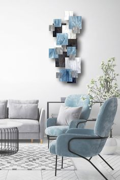 Modern Wall Sculptures, Metal Wall Sculpture, Arctic Landscape, 3d Wall, Wall Art, White Clouds, Steel Wall, Metal Walls, Accent Pieces