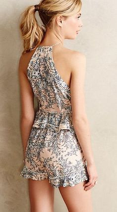 #summer #style / playsuit