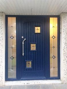 """Palladio Composite """"London"""" Door in Blue"""