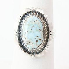 Mesaverdesouthwest.com - Navajo Silver Dry Creek Turquoise Women's Ring Size 7 Native American, $75.60 (http://www.mesaverdesouthwest.com/navajo-silver-dry-creek-turquoise-womens-ring-size-7-native-american/)