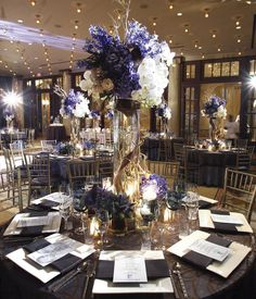 Tall Centerpieces - High Centerpieces | Wedding Planning, Ideas & Etiquette | Bridal Guide Magazine