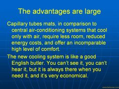 Welcome To Radiant Cooling And Radiant Heating By Micro Capillary