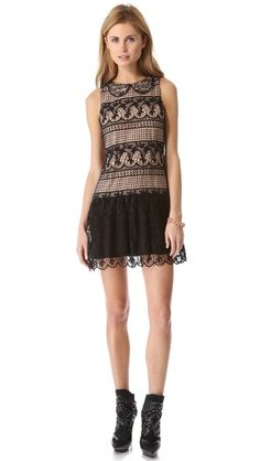 Alice & Olivia. I'm feeling lace madly for Fall 13.