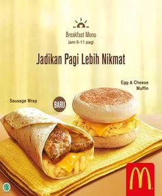 McDonalds Promo Sarapan Pagi http://www.perutgendut.com/read/mcdonalds-promo-sarapan-pagi/823 #Promo #McDonalds