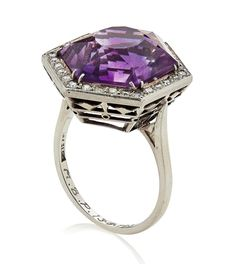 Russian amethyst ring 1910