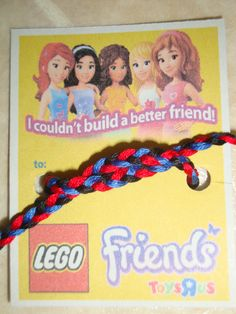 what's a LEGO friends party without a friendship bracelet?