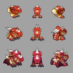 Elf Defense  / 2D Game concept art by i-jay , via Behance