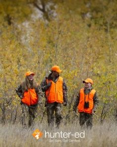 Blaze orange saves lives. 81% of victims in vision-related hunting incidents were not wearing hunter orange clothing. Wear it and save your life.