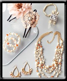 Pastels & Pearls from cato they have crazy good deals you should go