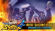 cool Mangetsu of Seven Ninja Swordsmen!!! Naruto Shippuden Final Ninja Storm four Mods