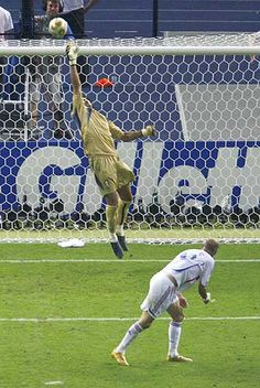 Buffon and Zidane (World Cup Final 2006 during extra time)