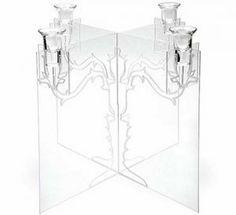 ghost candelabra glass lucite via myLusciousLife.com.jpg