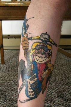 FLCL Haruko Haruhara tattoo :)
