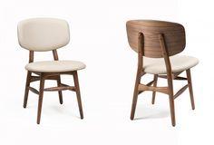magnifique  chaise bois tissu